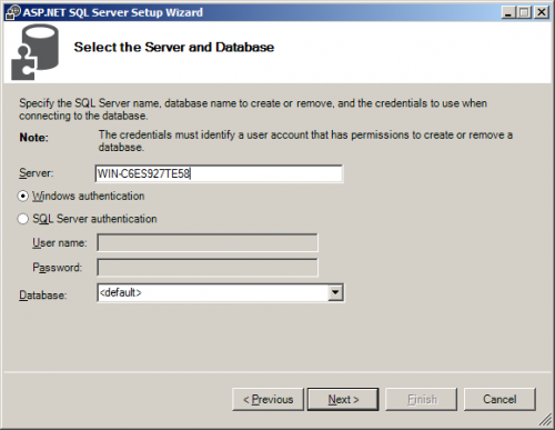 Configuring Forms Based Authentication (FBA) in SharePoint